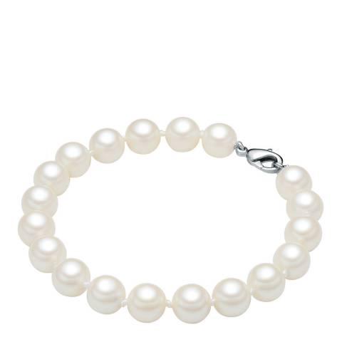 Perldesse White Pearl Bracelet 17cm