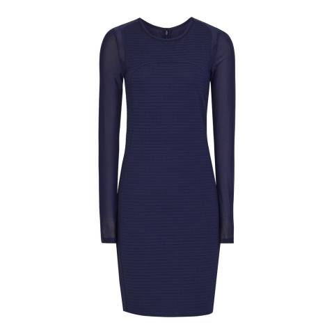 Reiss Indigo Rita Bodycon Dress
