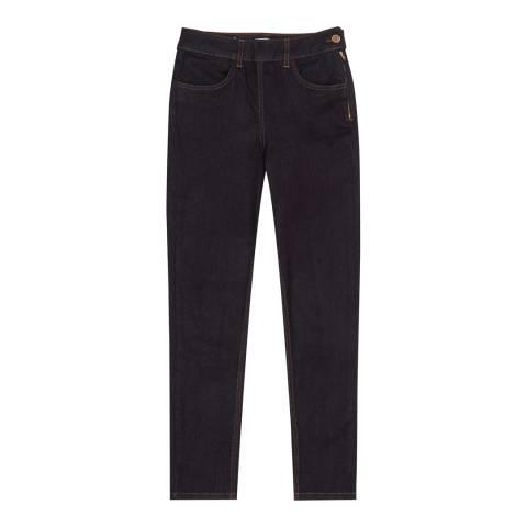 Reiss Indigo Hedy Premium Stretch Skinny Jeans
