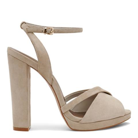 Reiss Natural Audrey Block Heels
