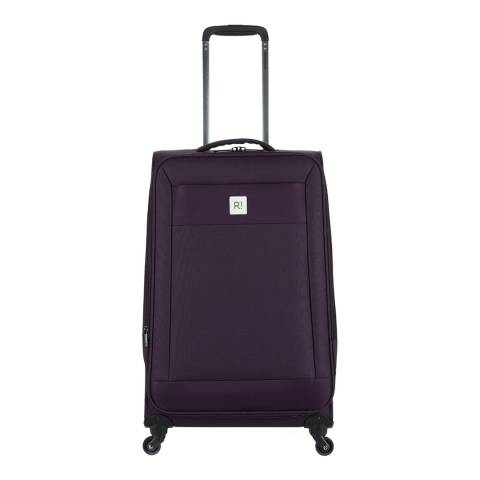 Revelation By Antler Purple Nexus Medium Spinner Suitcase 67cm