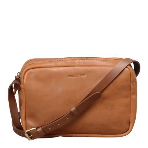 Forbes & Lewis Sara Shoulder Bag - Tan