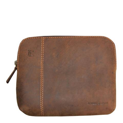 Forbes & Lewis Montpelier 15''Laptop case leather - Vintage