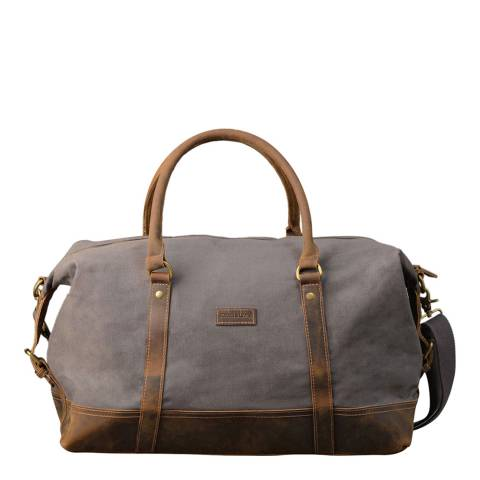 Forbes & Lewis Grey Somerset Holdall