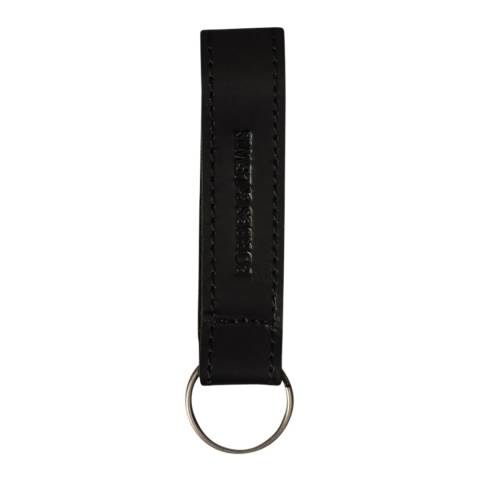 Forbes & Lewis Black Leather Key Fob