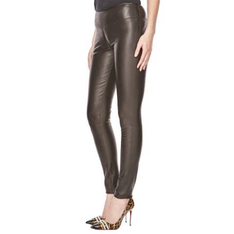 Max and Zac London Black Leather Leggings