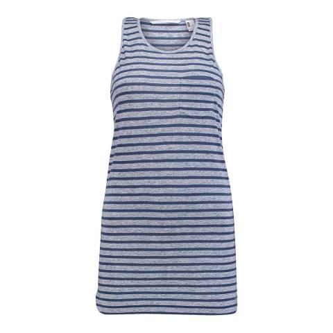 O'Neill Blue Striped Tank Top