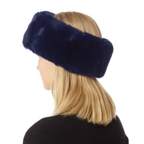 JayLey Collection Navy Faux Fur Headband
