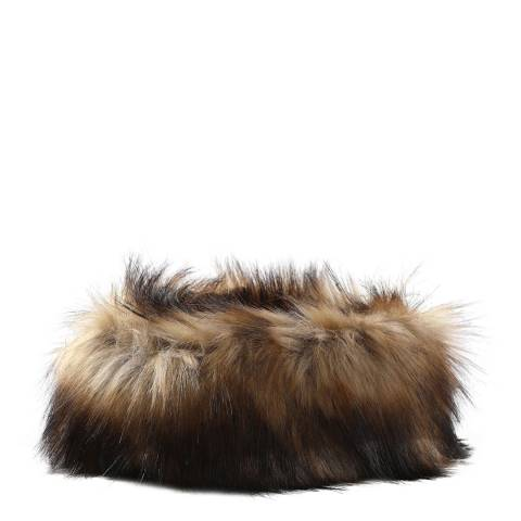 JayLey Collection Mocha Faux Fur Headband