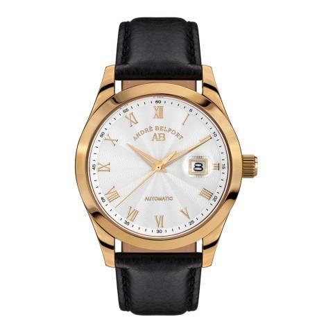 Andre Belfort Men's Gold/Black Stainless Steel Empereur Watch