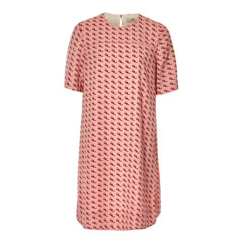 Orla Kiely Pink Ditsy Shoe Tunic