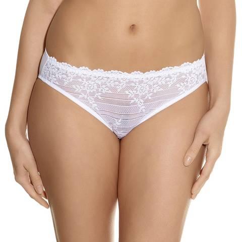 01949c2885cb7 Cream Embrace Lace Bikini Briefs - BrandAlley