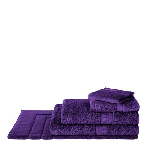 Sheridan Egyptian Luxury Bath Sheet, Aubergine