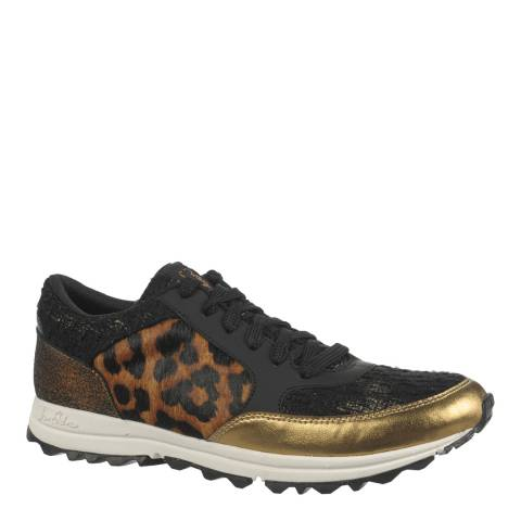 Sam Edelman Leopard And Gold Des Trainers