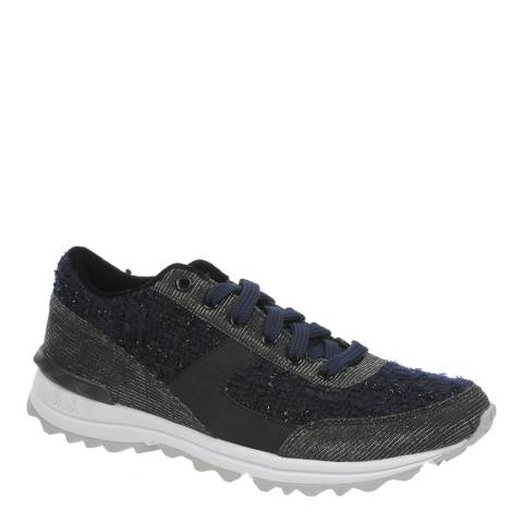 Sam Edelman Navy Boucle Dax Trainers