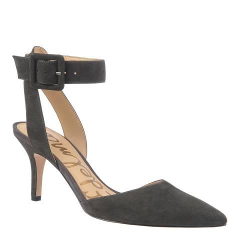 2868b18079bc Grey Suede Okala Ankle Strap Heels - BrandAlley