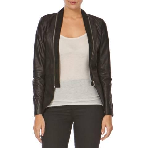 Bolongaro Trevor Black Rathbone Leather Jacket