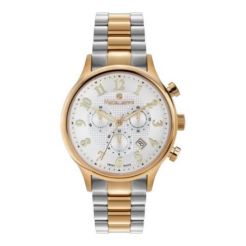 Mathieu Legrand Men's Gold/Silver Stainless Steel Watch