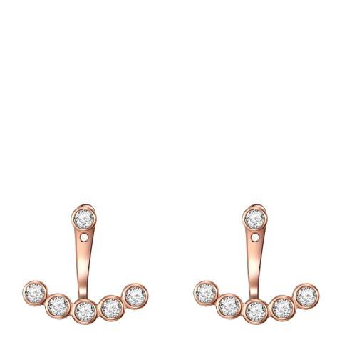 Carat 1934 Rose Gold Fan Earrings