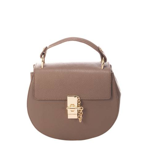 Giorgio Costa Beige Leather Crossbody Bag
