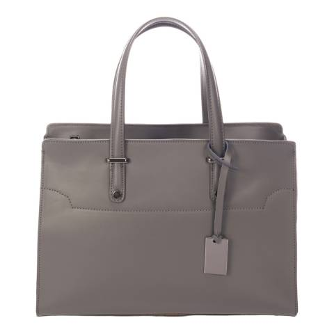 Giorgio Costa Dark Grey Leather Shoulder Bag