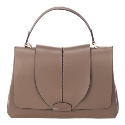 Giorgio Costa Taupe Leather Handbag