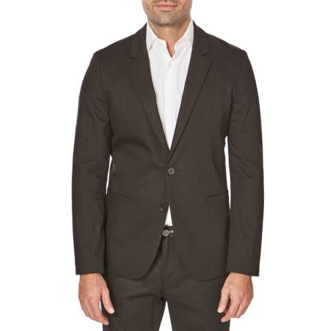Hugo Boss Black Arsio Long Sleeve Cotton Blazer