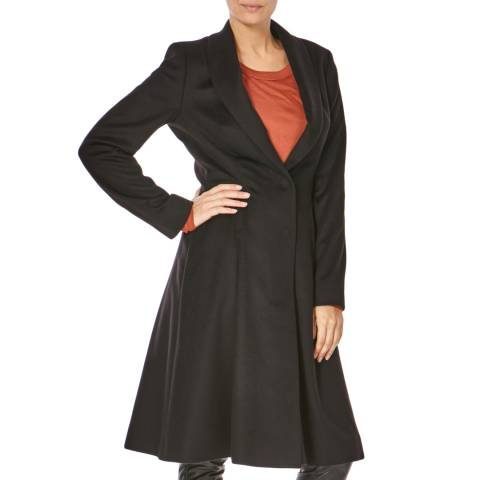Boss by Hugo Boss Black Cashmere Coat