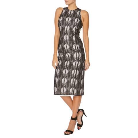 Boss by Hugo Boss Black FS_Dalasi_Show Mesh Overlay Dress