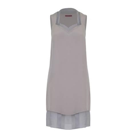 WTR London Grey Bloem Layer Dress