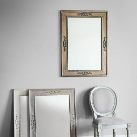Gallery Limed Oak Ellesmere Mirror 94x68cm