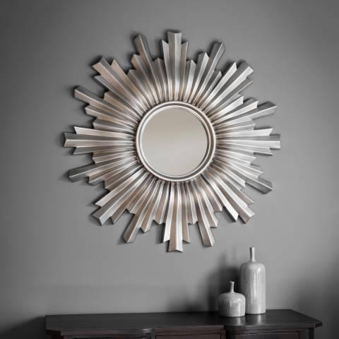Gallery Silver Linden Wall Mirror 107x107cm
