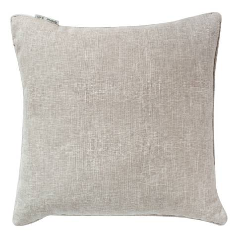 Parisian House Natural Textured Piped Cushion  45 X 45cm