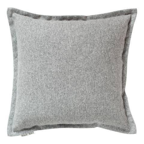 Gallery Grey Two Tone Plain Cushion 45x45cm
