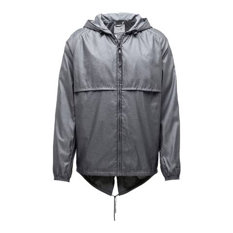 Puma Men's Grey Stampd Windbreaker