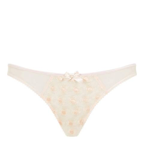 L'Agent by Agent Provocateur Nude Casie Mini Briefs