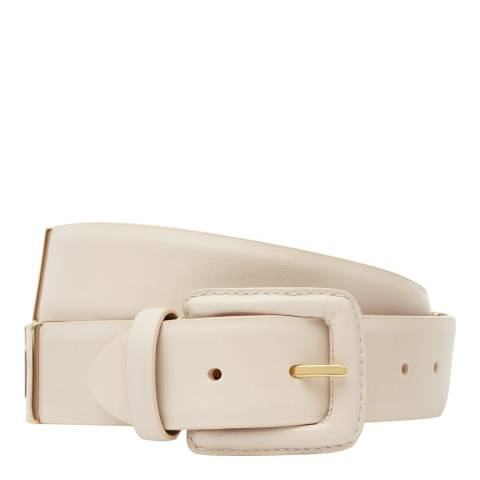 Reiss Nude Joni Buckle Leather Belt