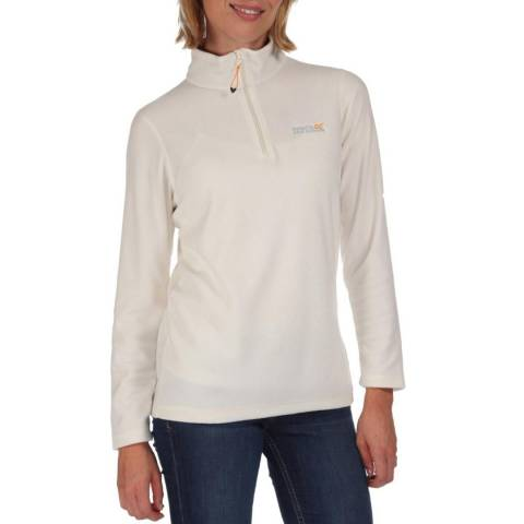 Regatta White Fleece Jacket
