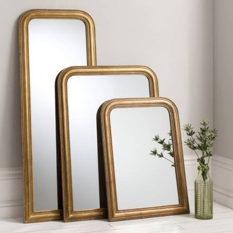 Gallery Gold Worthington Mirror 40 x 30 Inches