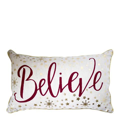 Gallery Metallic Believe Printed Cushion 30 x 50 cm
