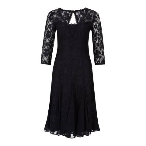 Monsoon Black Lenora Lace