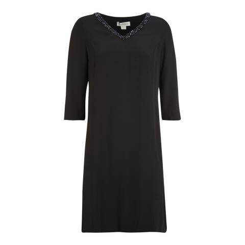Monsoon Black Rami Tunic