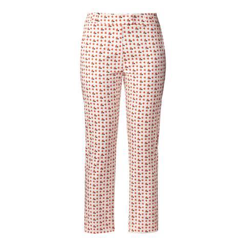 Orla Kiely Poppy Busy Bee Print Trousers