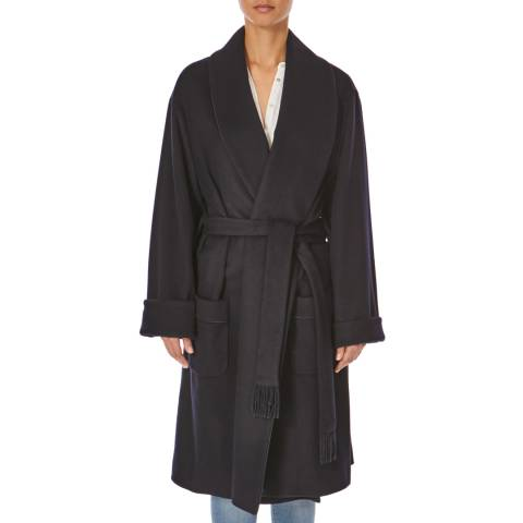 Joseph Navy Page-Wool Coat
