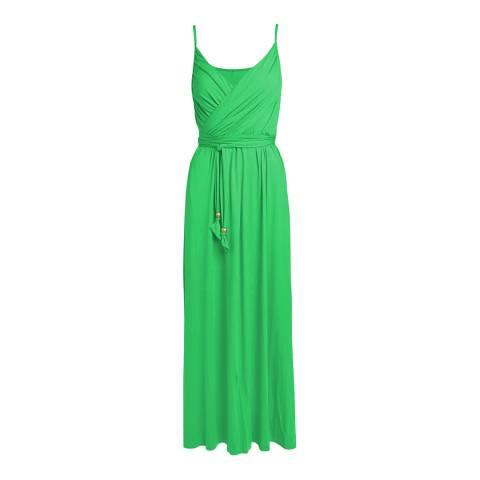 Melissa Odabash Green Zoe Maxi Dress