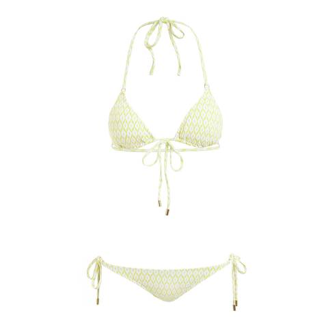 Melissa Odabash Diamond Yellow Portugal Bikini