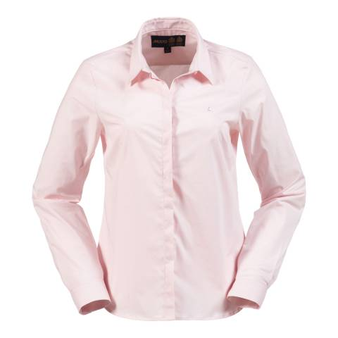 Musto Women's Cool Pink Seren Long Sleeve Cotton Shirt