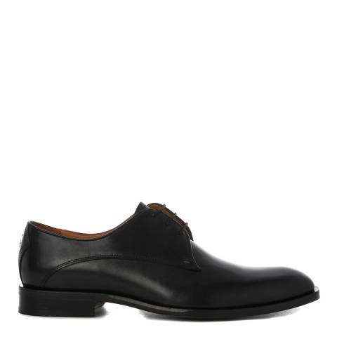 Oliver Sweeney Black Leather Penselo Derby Shoes