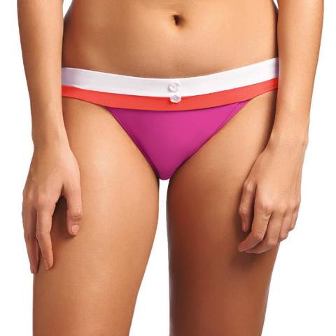 Freya Pink Sorbet Revival Rio Wide Tab Bikini Brief