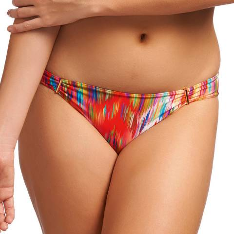 Freya Orange/Multi Fusion Penza Hipster Bikini Brief
